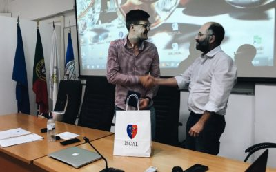 Seminário de Empreendedorismo no ISCAL